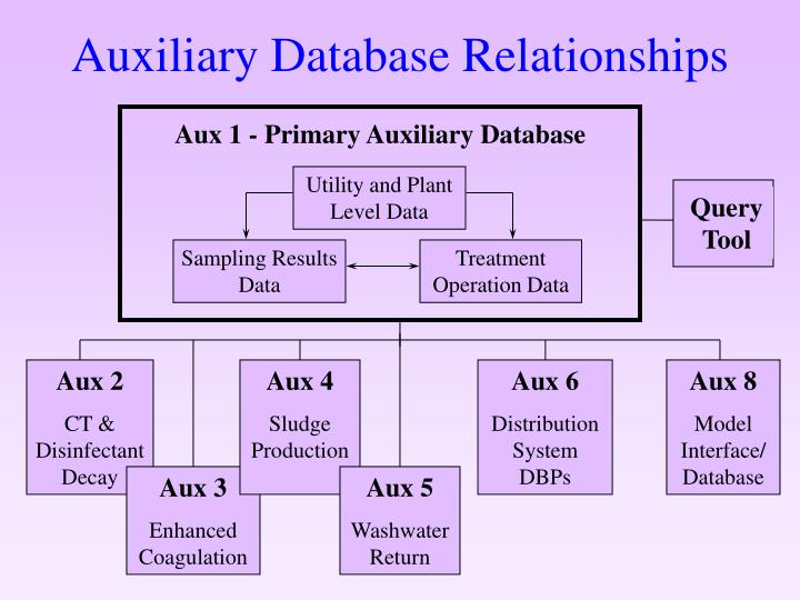 Aux 1 - Primary Auxiliary Database