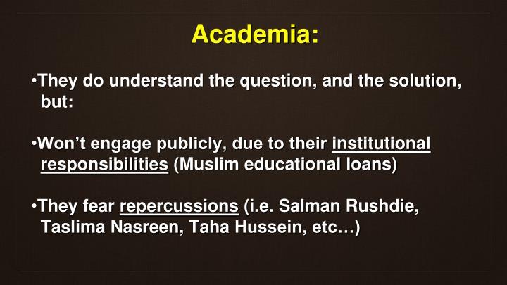 Academia: