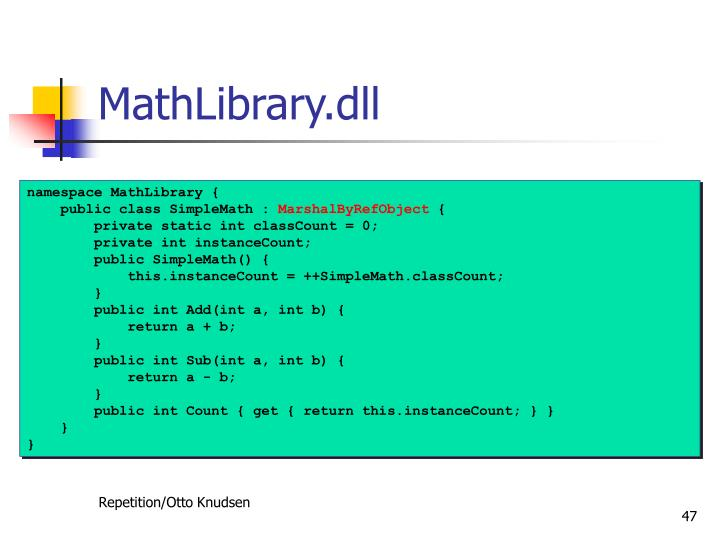 MathLibrary.dll
