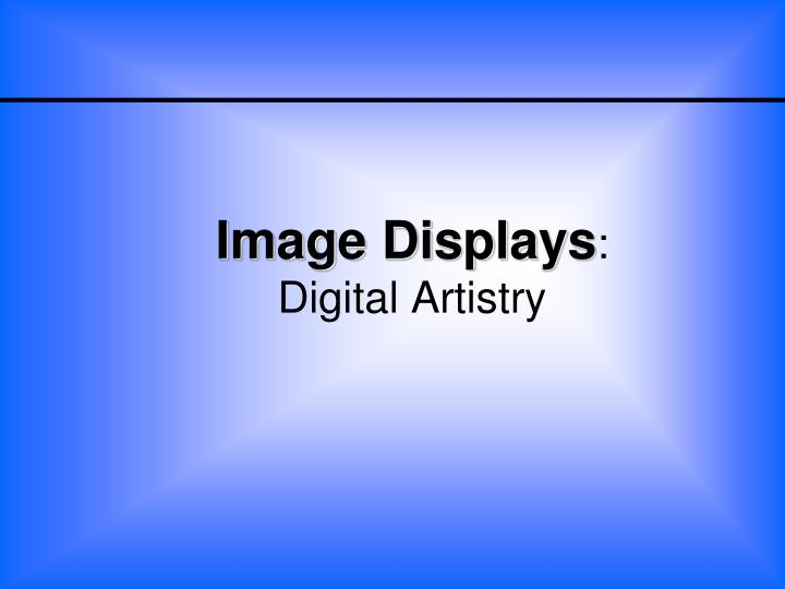 Image Displays