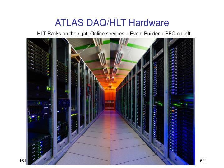 ATLAS DAQ/HLT Hardware