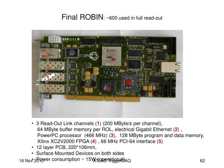 Final ROBIN