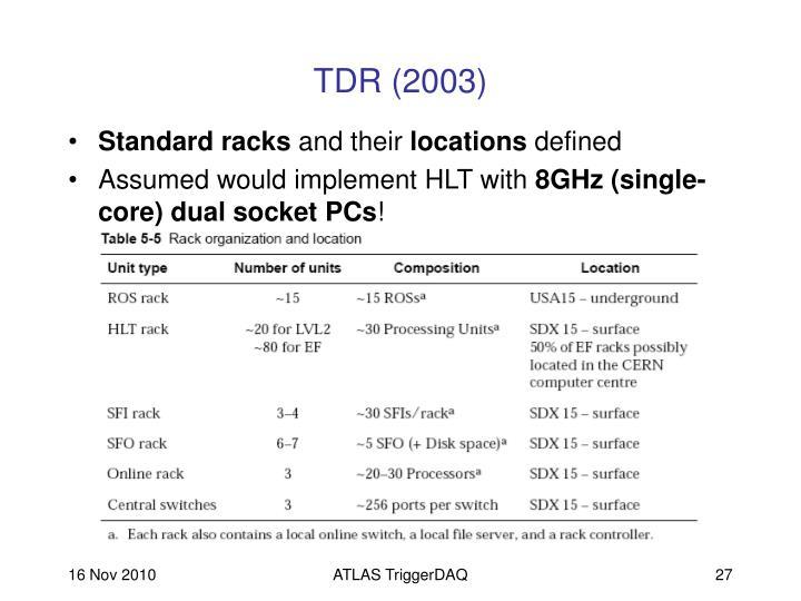 TDR (2003)