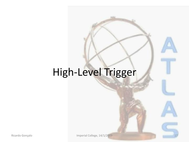 High-Level Trigger