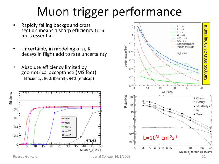 Muon trigger performance