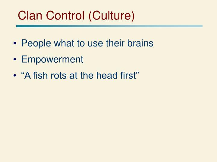 Clan Control (Culture)
