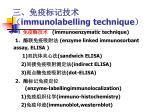 immunolabelling technique