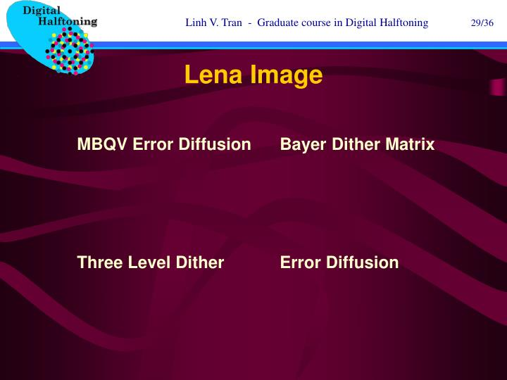 Lena Image