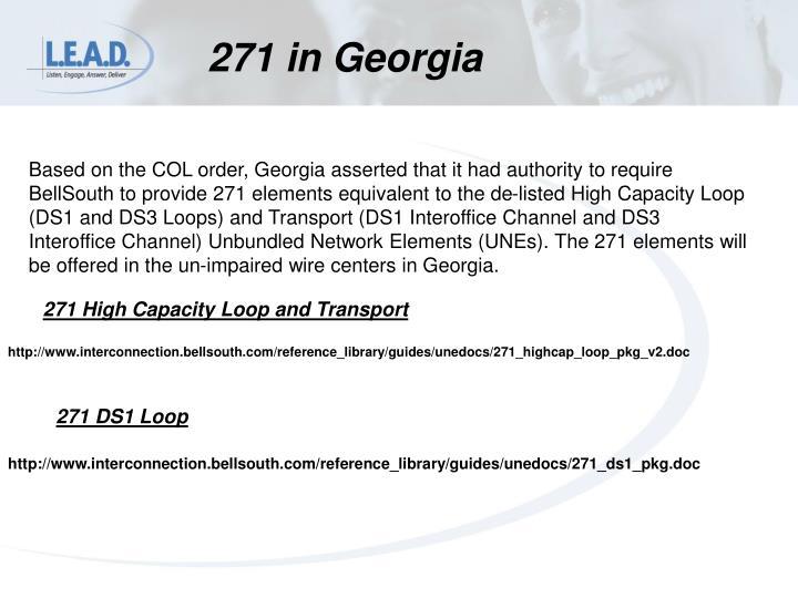 271 in Georgia