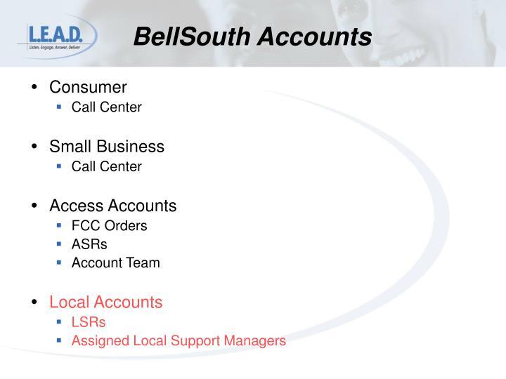 BellSouth Accounts