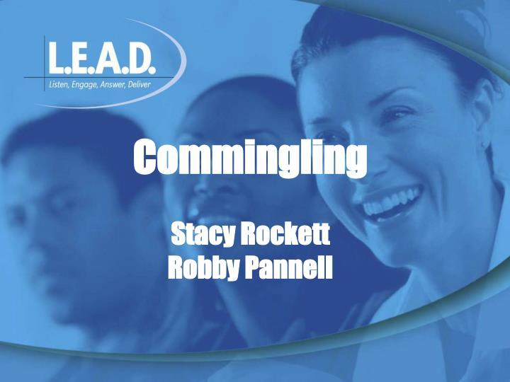 Commingling