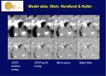 model data stein nordlund keller