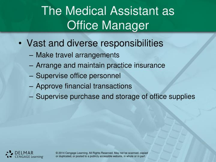 The Medical Assistant as