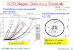 nbti magnet techology potentials