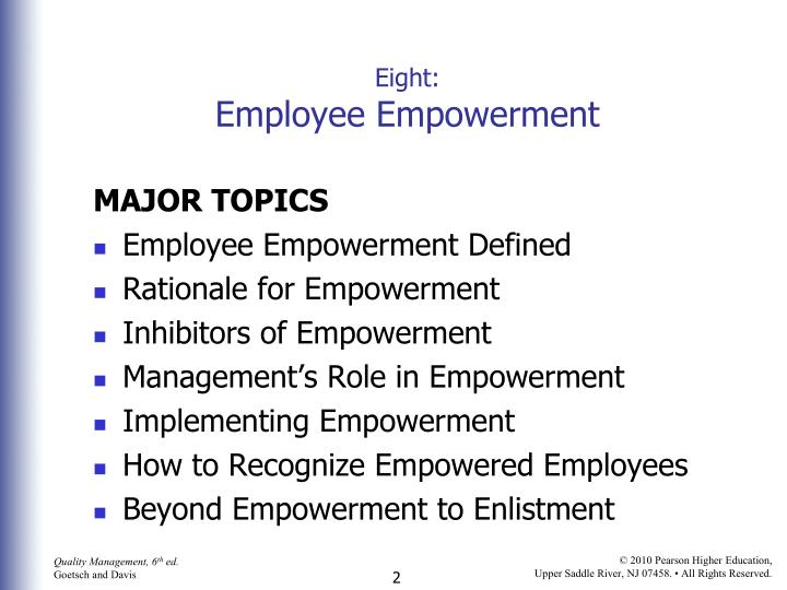 how to empower employees essay