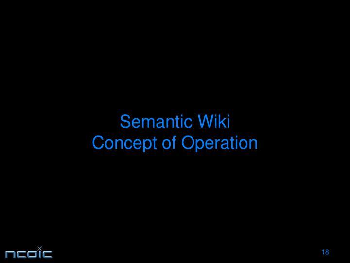 Semantic Wiki