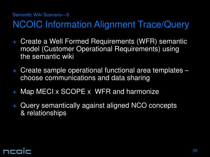 Semantic Wiki Scenario—5