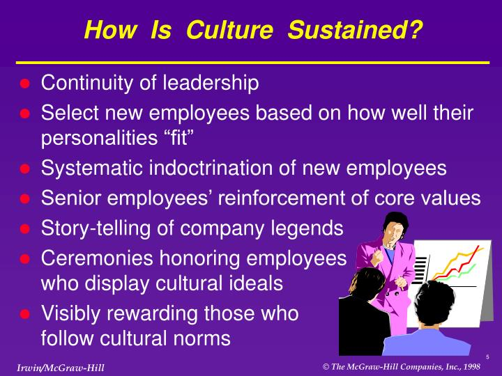 How  Is  Culture  Sustained?