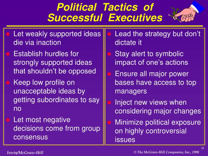 Let weakly supported ideas die via inaction