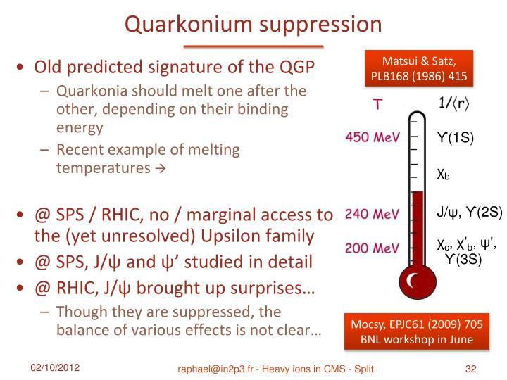 Quarkonium