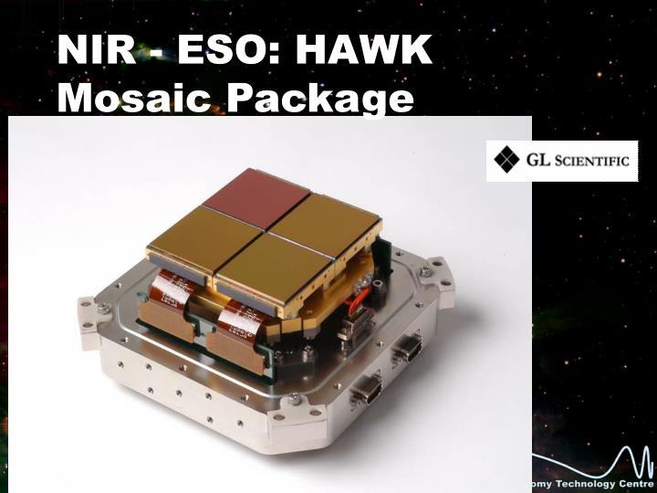 NIR - ESO: HAWK Mosaic Package