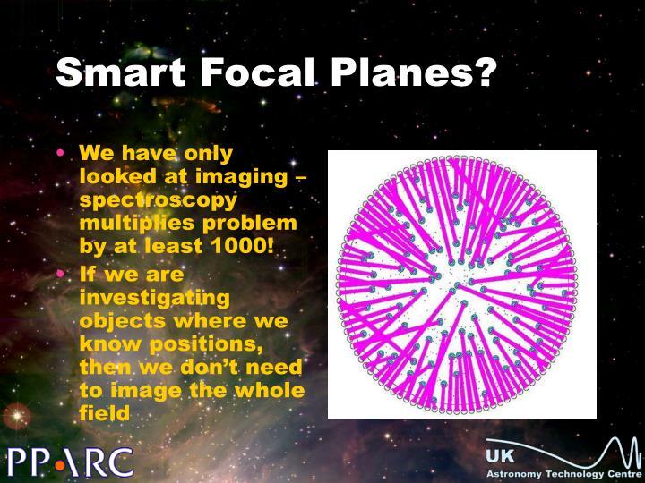 Smart Focal Planes?