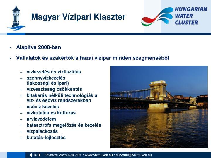Magyar Vízipari Klaszter
