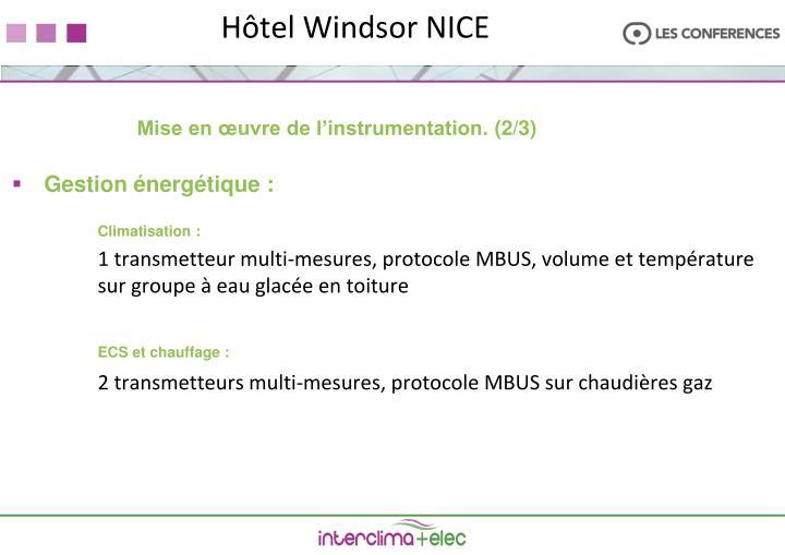 Hôtel Windsor NICE