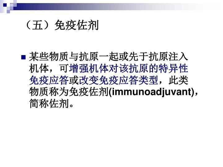 (五)免疫佐剂