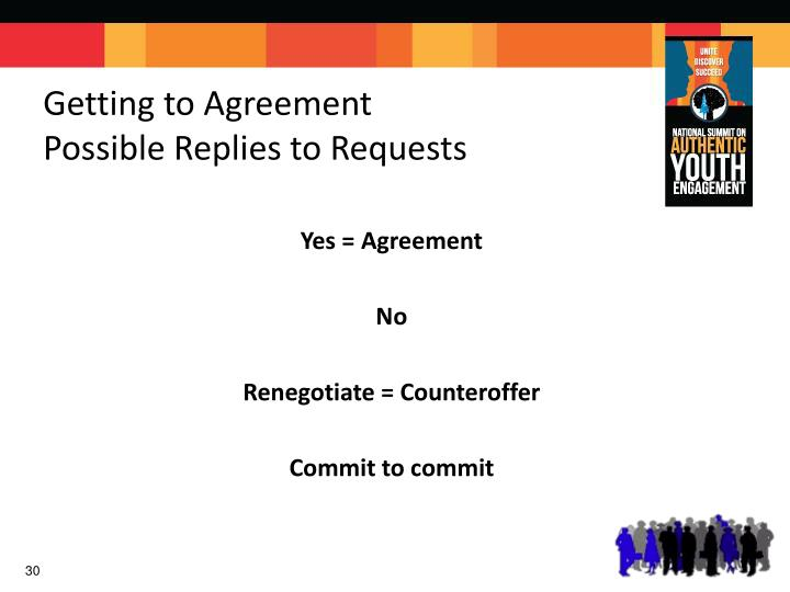 Getting to Agreement