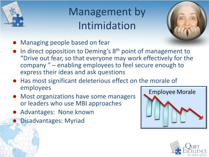 Management by