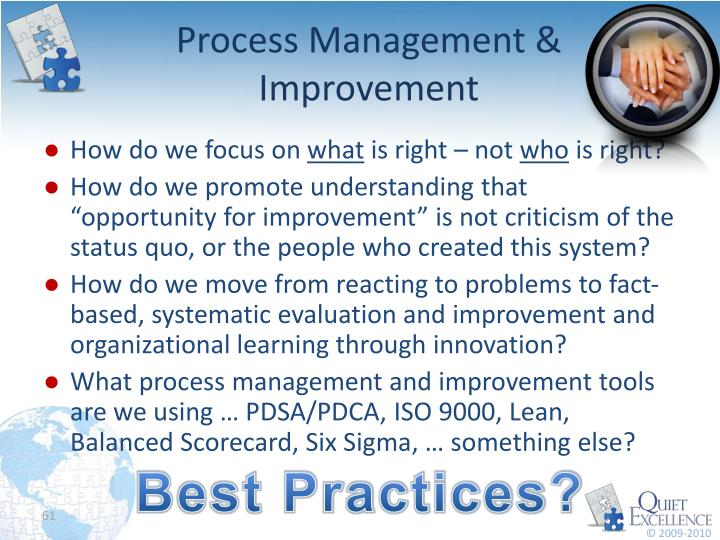 Process Management & Improvement