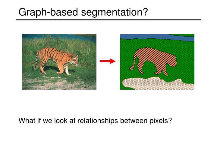 Graph-based segmentation?