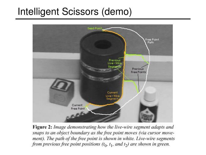 Intelligent Scissors (demo)