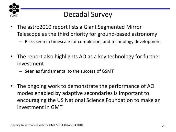 Decadal Survey