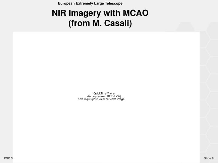NIR Imagery with MCAO