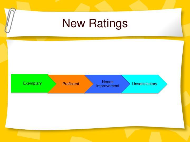 New Ratings