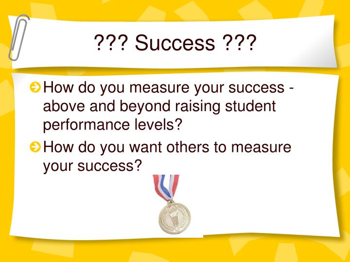 ??? Success ???