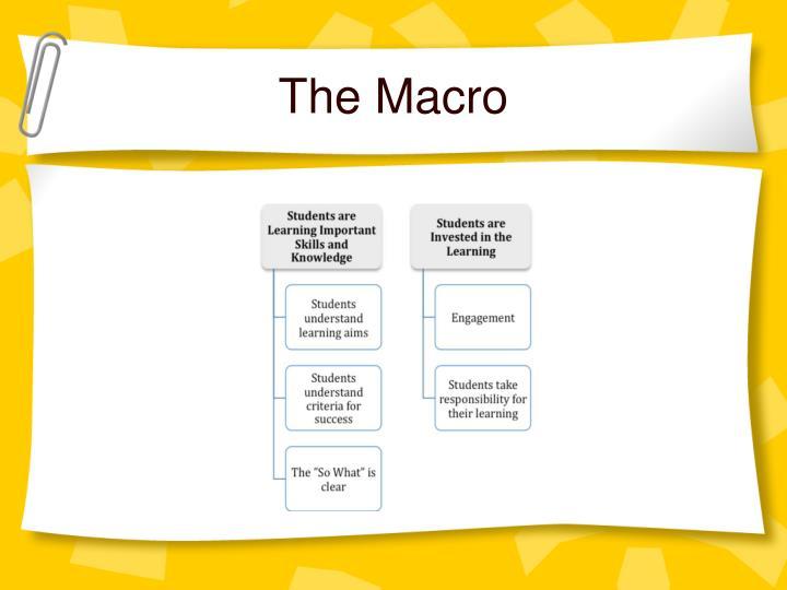 The Macro