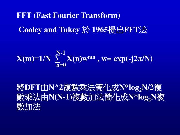 FFT (Fast Fourier Transform)