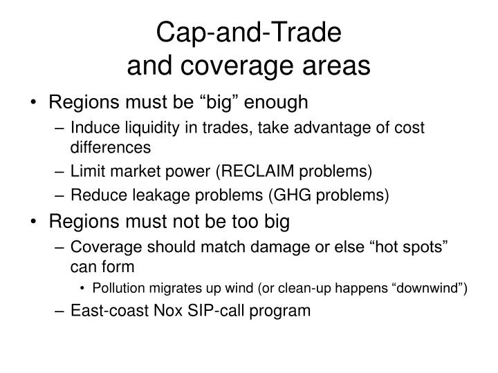 Cap-and-Trade