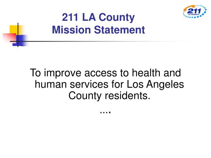 211 LA County