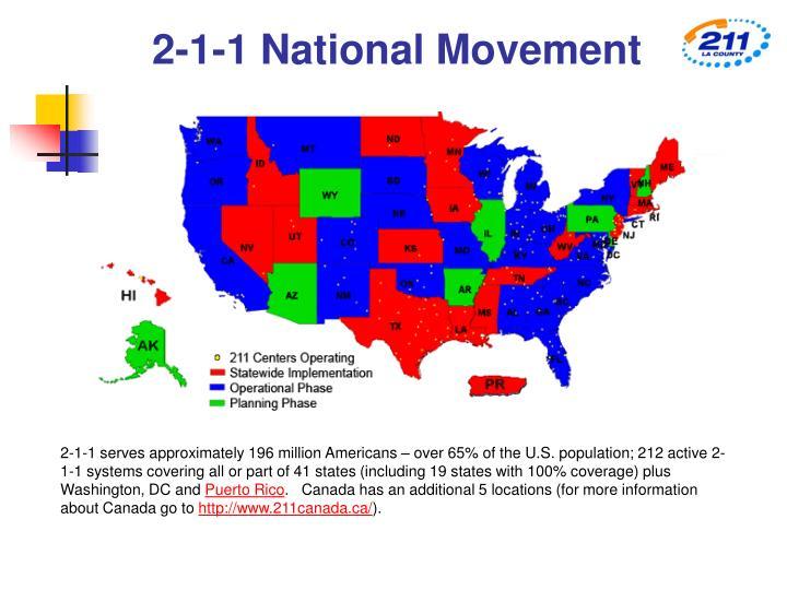 2-1-1 National Movement
