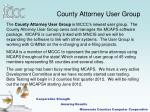 county attorney user group