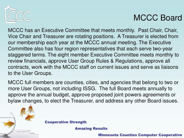 MCCC Board