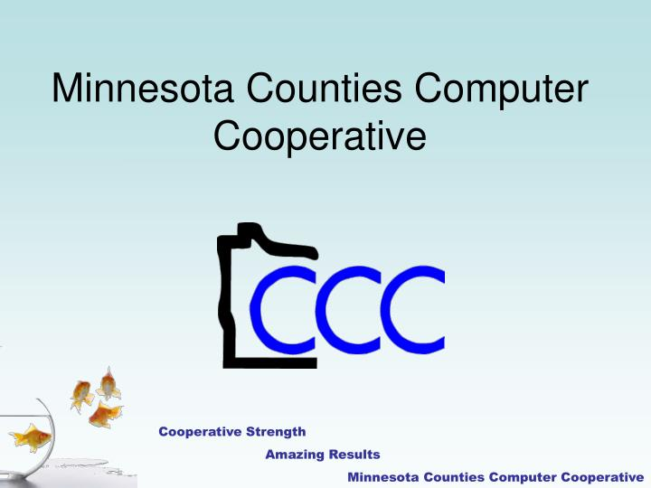 minnesota counties computer cooperative