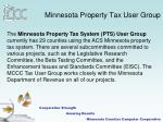 minnesota property tax user group