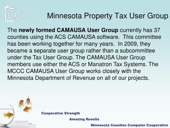 Minnesota Property Tax User Group
