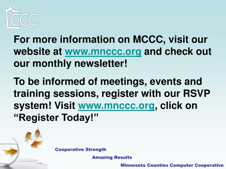 For more information on MCCC, visit our website at