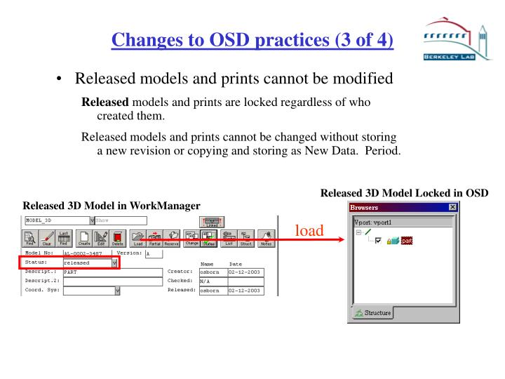 Released 3D Model in WorkManager